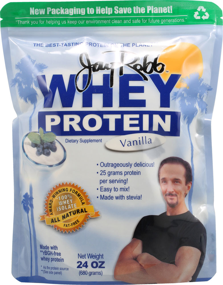 Jay robb whey protein vanilla